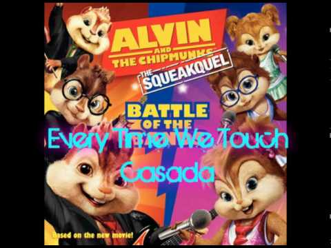 Alvin and The Chipmunks Squeakuel- Everytime We Touch- Casada