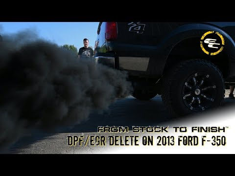 From Stock To Finish - DPF/EGR Delete & No Limit Intake on 2013 Ford F-350