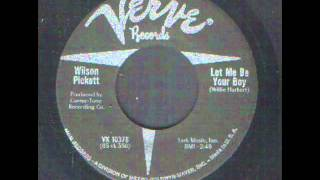 Wilson Pickett - Let me be your boy - Northern Soul.wmv