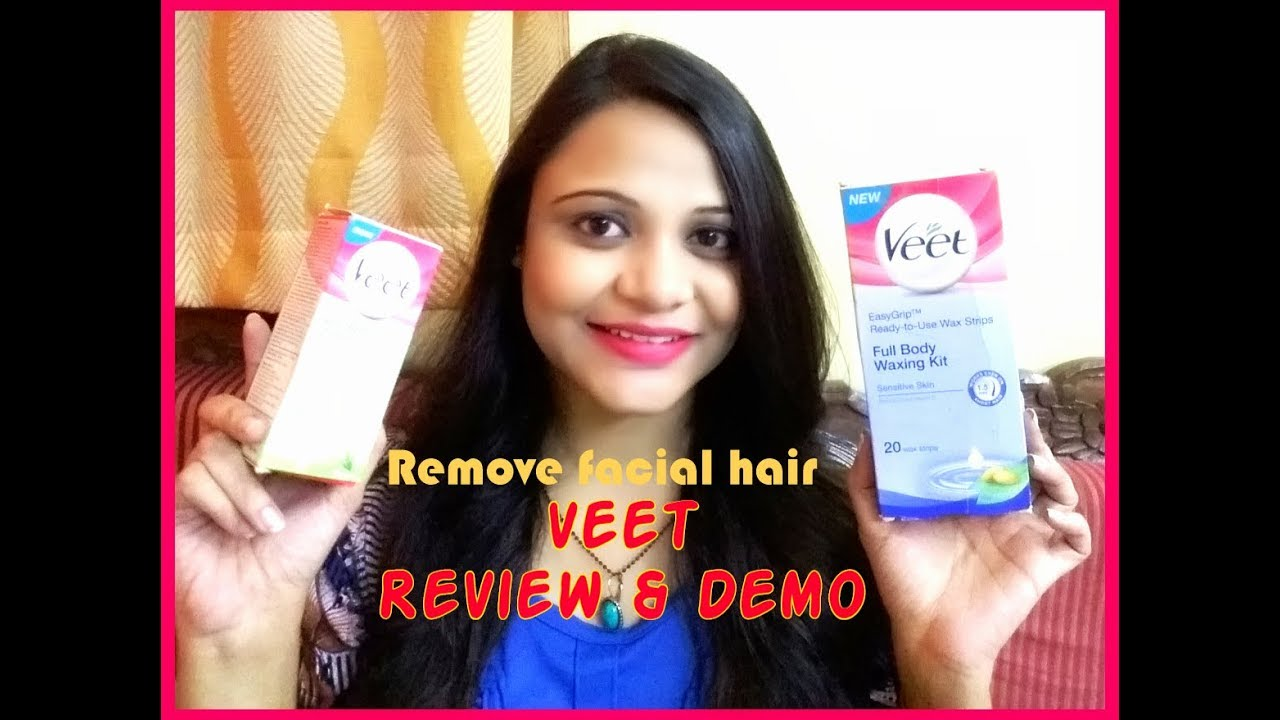 Remove Facial Hair Body Hair Instantly At Home Veet Wax Strips Review Demo Superbeautydezires Youtube