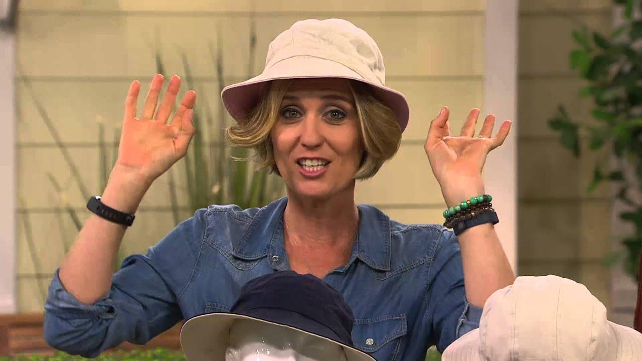 Physician Endorsed B.Zee UPF 50 Adjustable Garden Hat with Kerstin ...