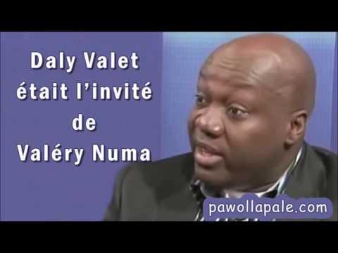 """Daly Valet à """"Invité Du Jour"""" de Valéry Numa  du Mardi 16 août 2016"""