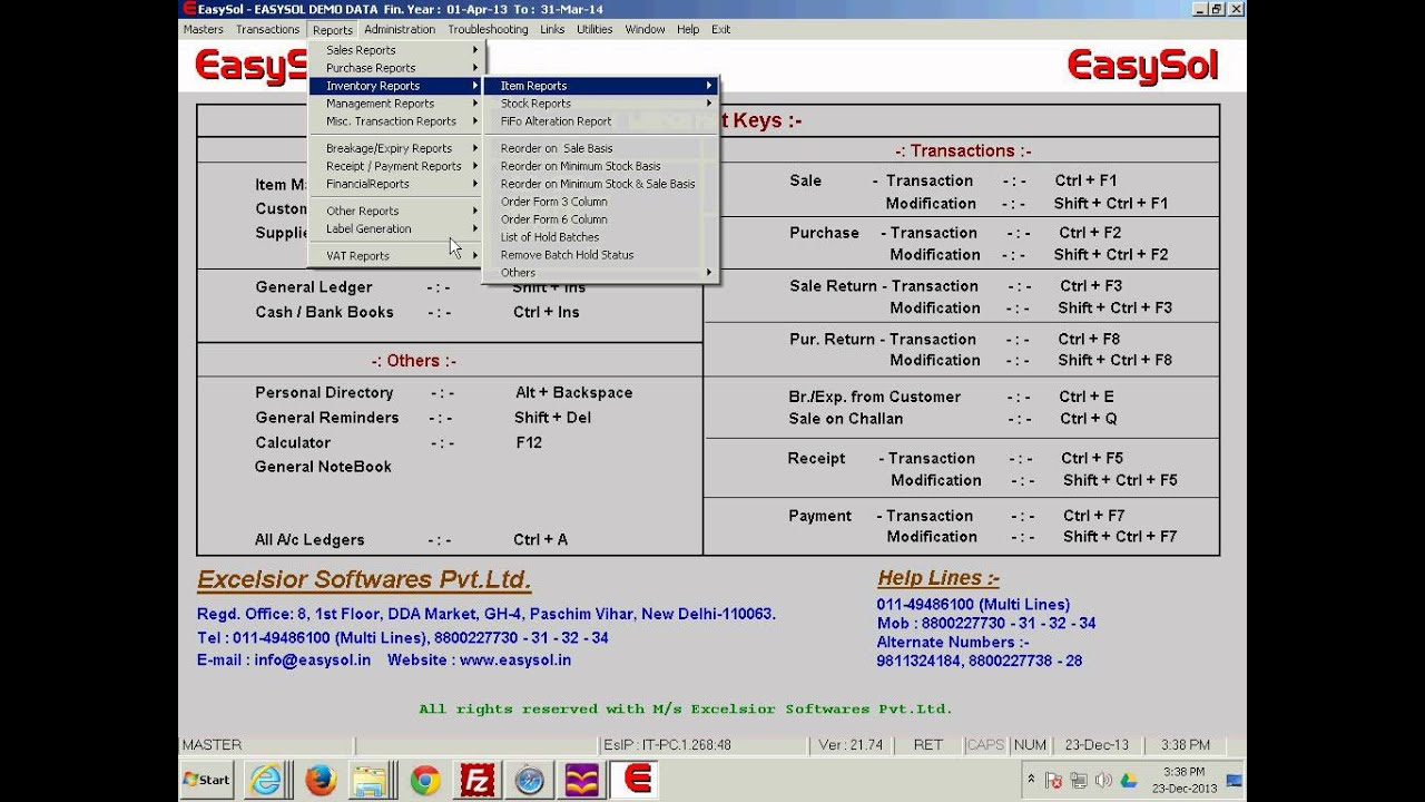 easysol pharma software