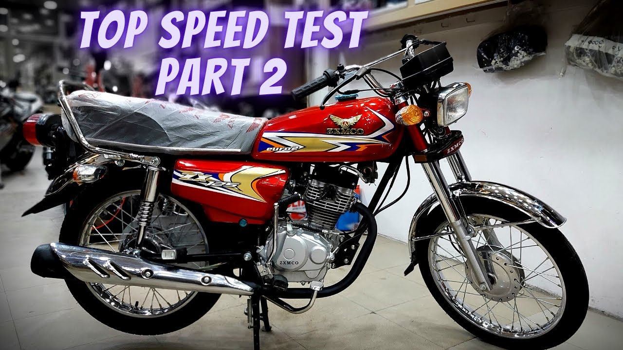 ZXMCO 125cc 2021 TOP SPEED TEST RIDE & FULL REMAND ON PK BIKES PART 2