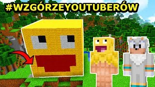 Minecraft: TAJNA BAZA W GŁOWIE SKKFA! #WzgórzeYoutuberów | Jeż Na Ferajnie!