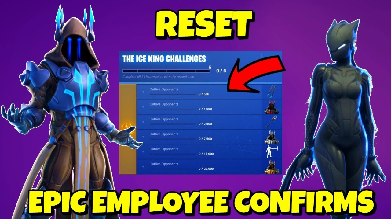 Your Xp Ice King Challenges Reset In Season 7 Fortnite Confirmed