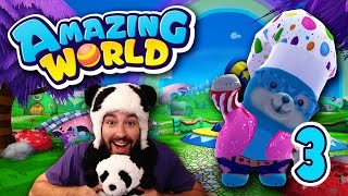 Sky Chickens & Douche-bag Ghosts! (Amazing World #3)