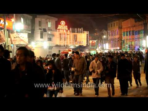 Hornbill night bazaar, Kohima