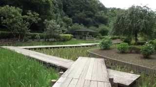 西山荘は水戸光圀(水戸黄門)が隠居生活したところです。 劇中の旅の出発...