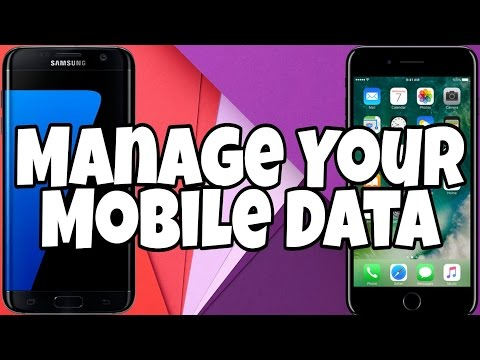 HOW TO SAVE AND MANAGE MOBILE DATA!! DATA USAGE APP REVIEW 2017