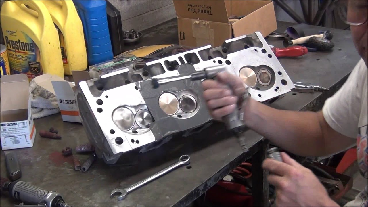 Tech Corner: Porting and Polishing Your Own Cylinder Heads