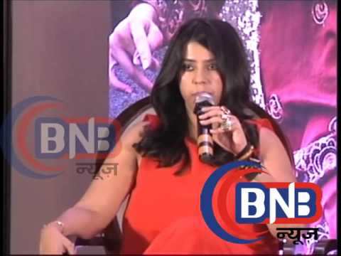 Ekta Kapoor We have decided only Anurag...