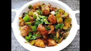 Mushroom Manchurian Recipe | Chilli Manchurian | Indo-Chinese Fusion Recipe