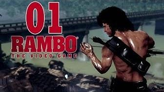 Let's Play Rambo The Video Game Gameplay Deutsch Part 1 - German Walkthrough
