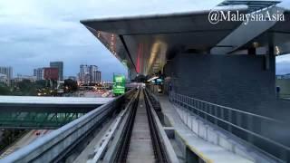 MRT Malaysia Train Ride 2017