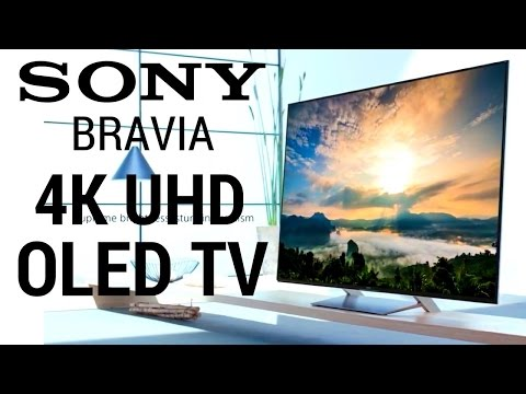 SONY BRAVIA A1 OLED 4K HDR TV EXCLUSIVE LOOK | ACOUSTIC SURFACE SPEAKER TEST