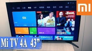 REVIEW ya TV XIAOMI Mi TV 4A 43 - KUPAKIA, TESTS, MAHARIA