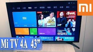 ОБЗОР ТЕЛЕВИЗОРА Xiaomi Mi-tv 4 43 - НАСТРОЙКА, ТЕСТЫ, ПРОГРАММЫ