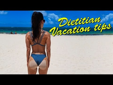 Dietitian Vacation Diet Tips - Punta Cana