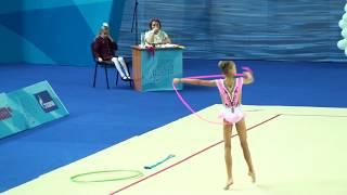 Ермолова Алина, скакалка, художественная гимнастика