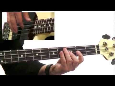 50 Bass Grooves - #2 Upbeat Funk - Bass Guitar Lesson - David Santos