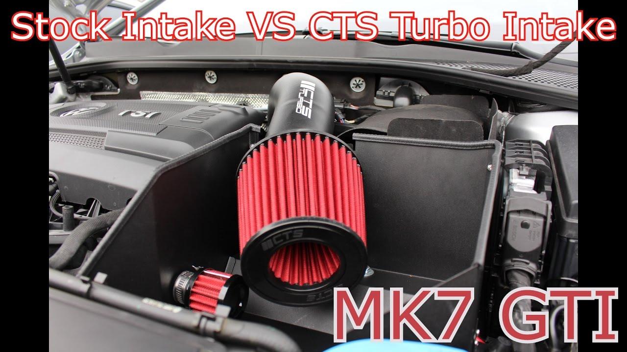 MK7 GTI CTS TURBO INTAKE - YouTube