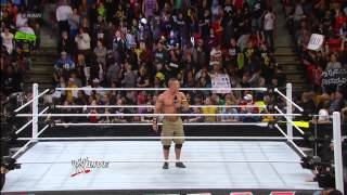 The Shield set their sights on John Cena Raw Jan 28 2013