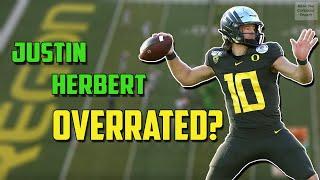 Is Justin Herbert Overrated? NFL Draft Prospect Breakdown