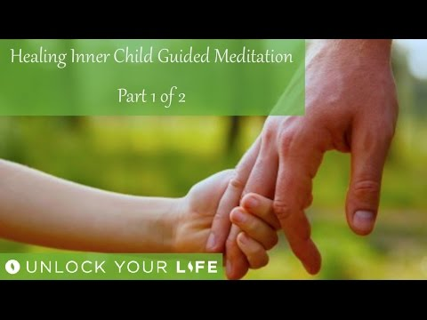 Healing Inner Child Meditation Part 1 of 2 | Receive a Special Message From Your Child Self