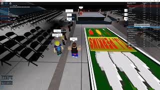 WWE TJ Perkins ingresso (ROBLOX stile)