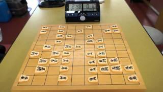 国東高校の文化祭「夢源祭」の将棋大会の決勝戦です。 左:小田(初段) ...