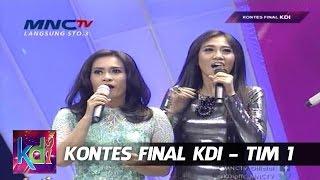 "Persahabatan Erie Suzan dan Ikke Nurjana "" Foto Foto Jadul "" Kontes Final KDI 2015 (13/5)"