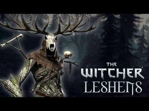 Witcher Monsters: Leshens - Witcher Lore - Witcher Mythology - Witcher 3 lore
