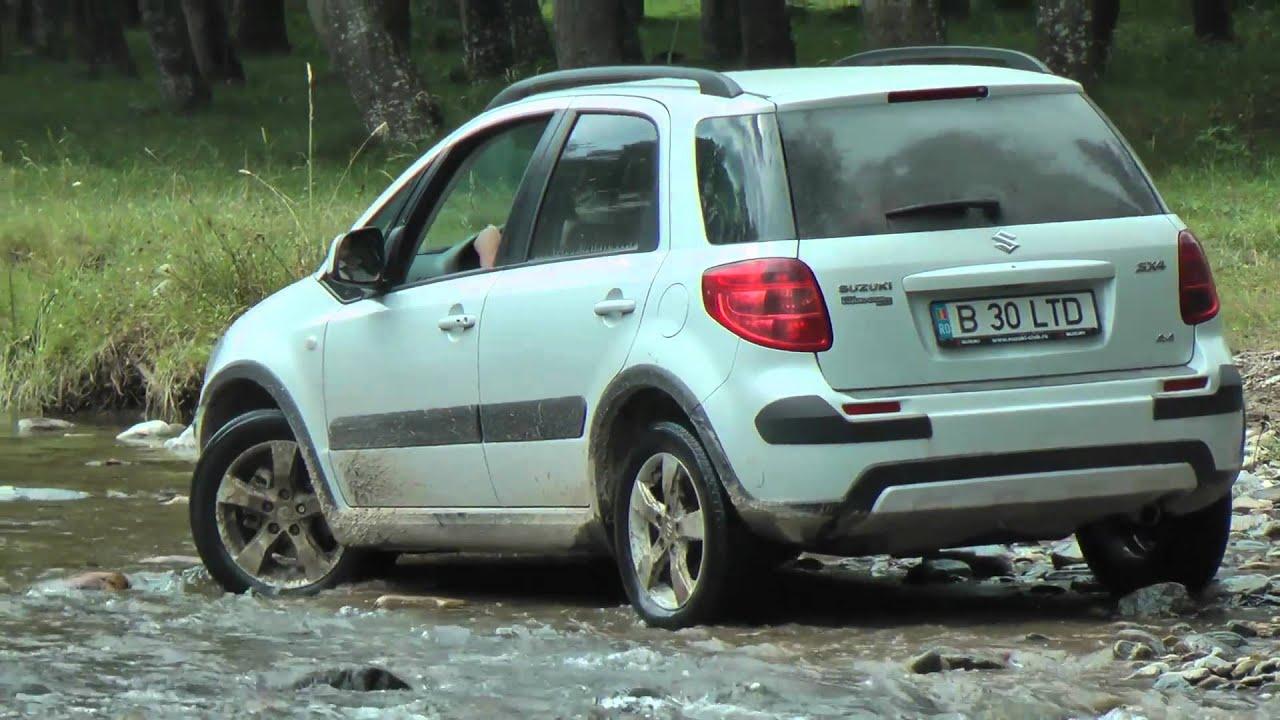 Suzuki SX4 offroad fun - YouTube