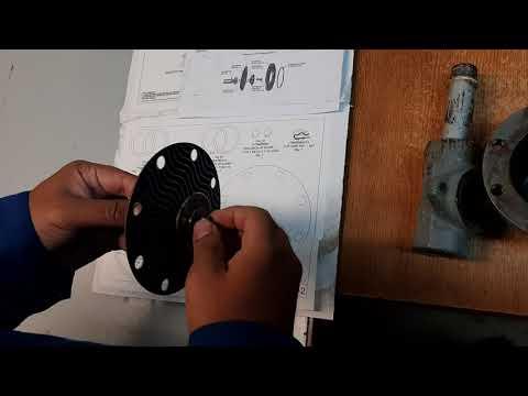 How To Repair Fisher Model 627H Gas Regulator