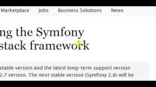 Installation symfony2