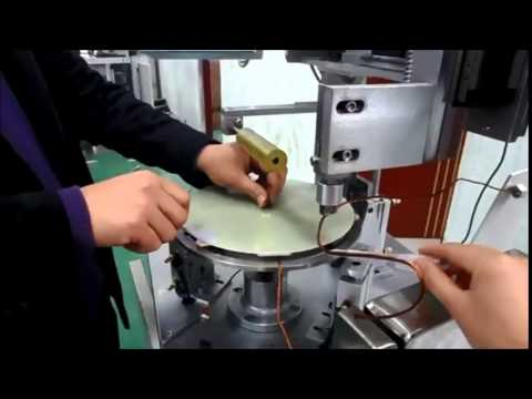 Sparse coil winding demo for Induction heater Shanghai Wind Automation Equipment Co.,Ltd
