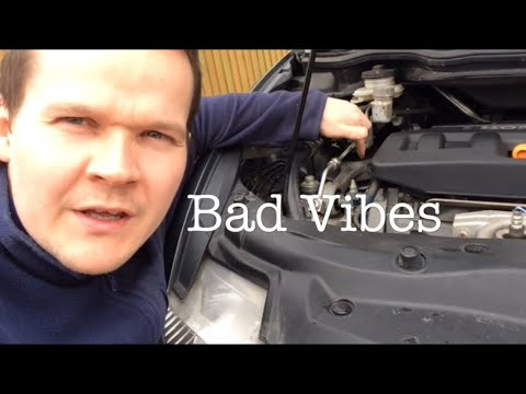 Engine // Exhaust Mounts Inspection Civic 8th Gen