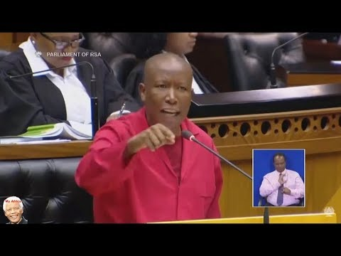 Malema's full speech: 'Vote Duduzane's father out'