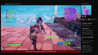 Fortnite (NA-EAST) (FASHION SHOW) Bithday stream for my brother!!!