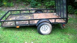 5x8 Pace Utility Trailer Review