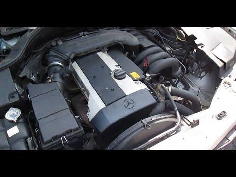 Кабанчик приболел( Плавают обороты Mercedes W140 M104