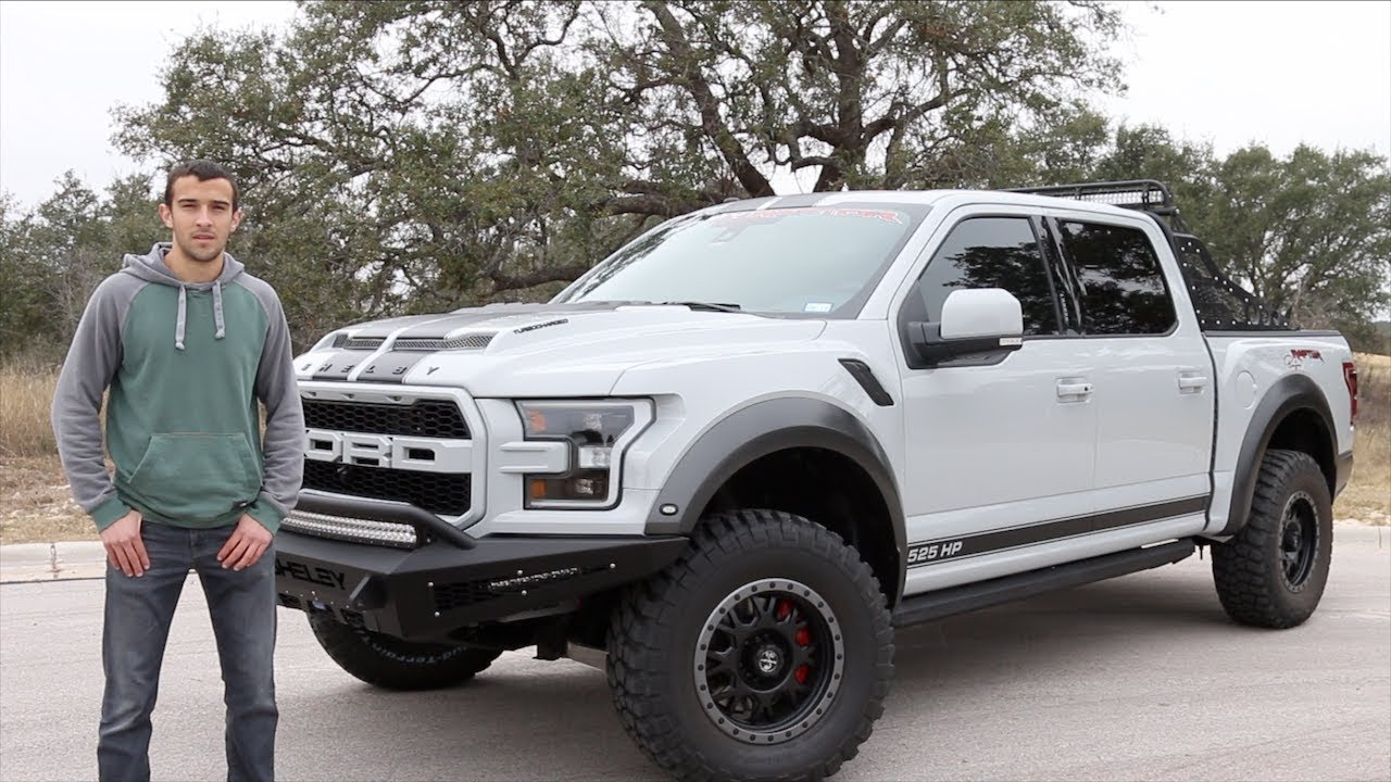 reviewing the 120 000 shelby raptor baja edition ford f. Black Bedroom Furniture Sets. Home Design Ideas