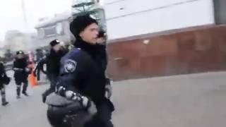 Россия. Украина. Русские полицейские в Крыму