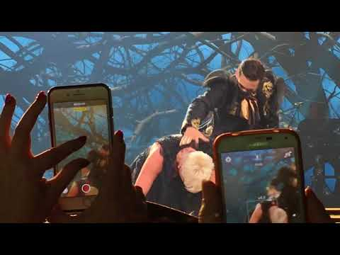 """P!nk Beautiful Trauma Tour """"Try"""" United Center Chicago 3-9-2018 Pink LIVE"""
