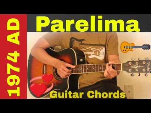 Parelima   1974 A D  guitar chords  lesson