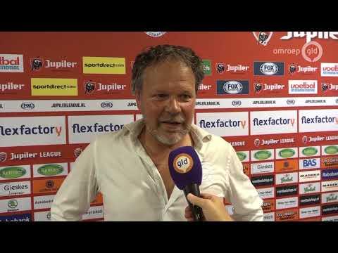 Henk de Jong trots om trainer van De Graafschap te zijn