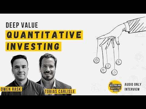Deep value quantitative investing, ft Tobias Carlisle