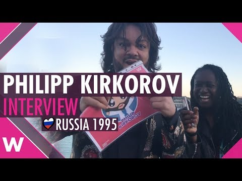 Philipp Kirkorov (Russia 1995) interview @ his 51st Birthday Party