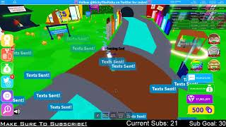 ROBLOX LIVE!   Heading for 1 hour!